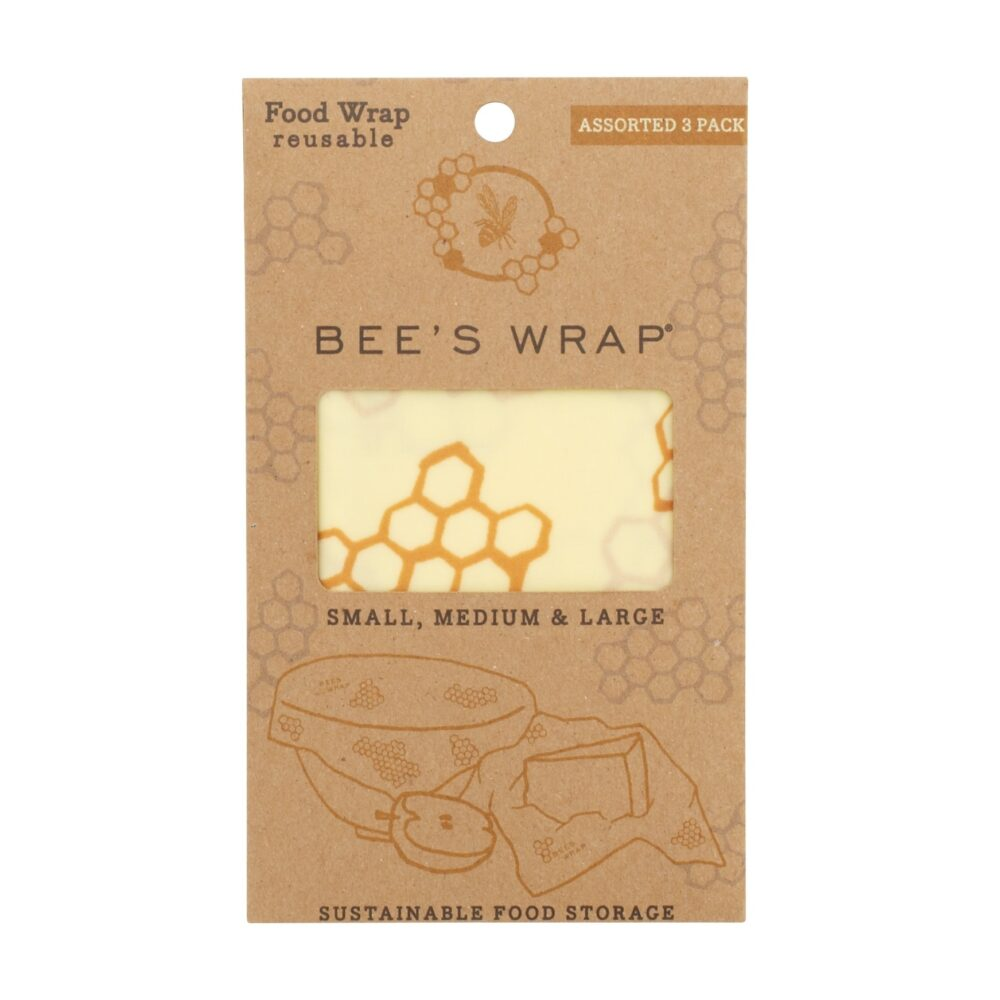 Bee's Wrap 3-pak indpakket