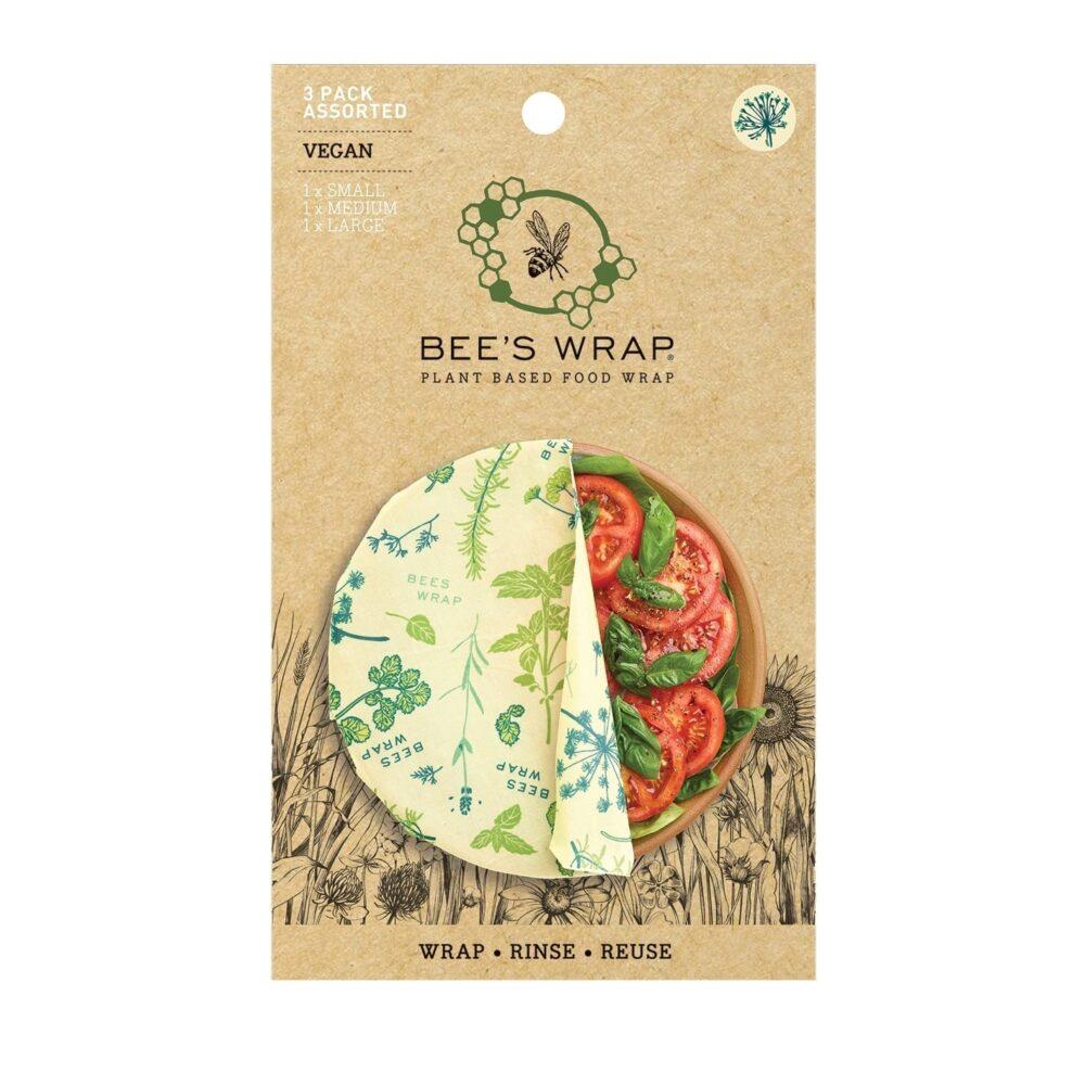 Bee's Wrap Vegan Herb Garden 3-Pak
