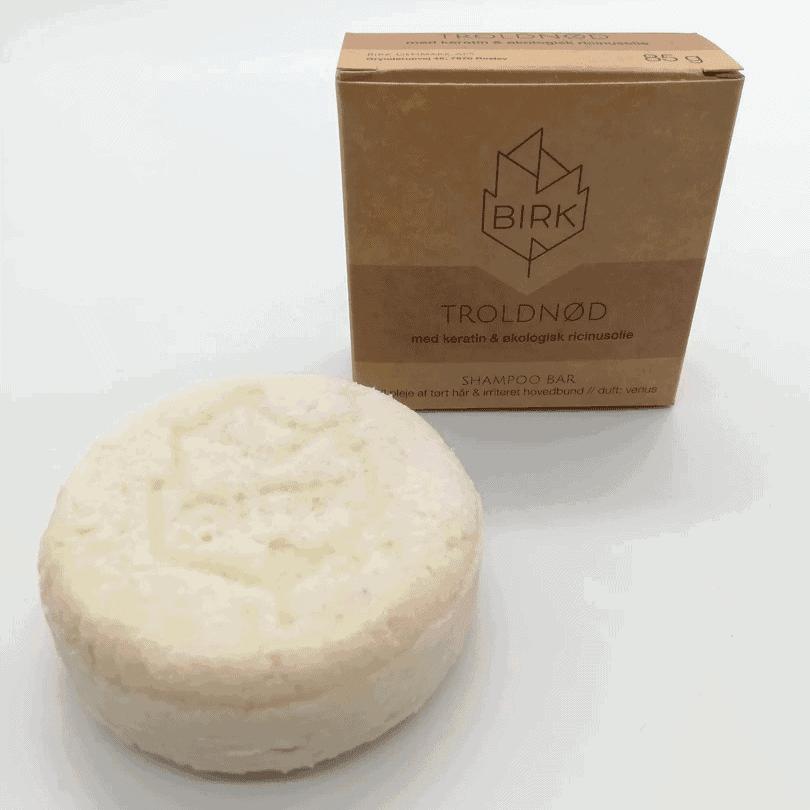 BIRK shampoobar troldnød med duft