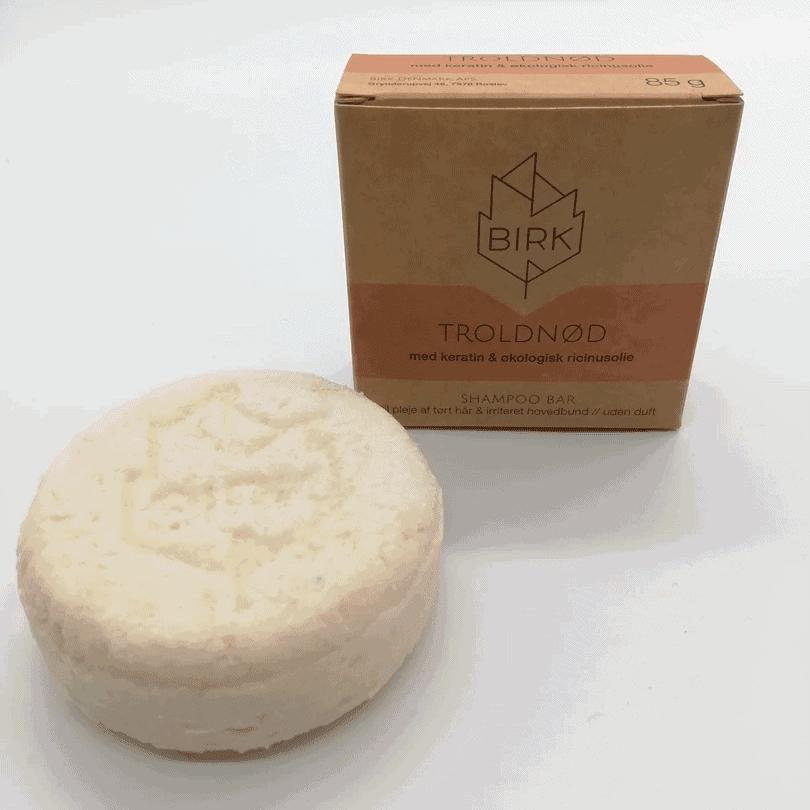 BIRK shampoobar troldnød uden duft
