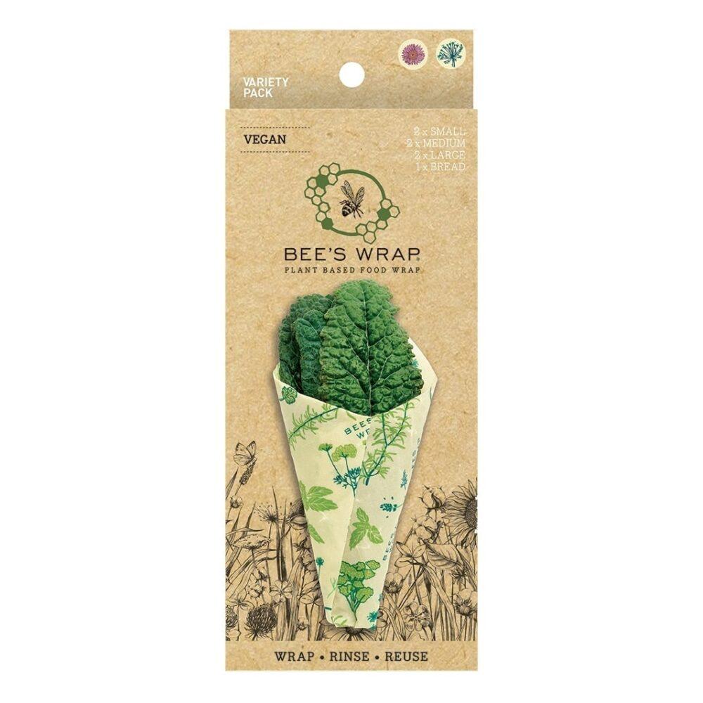 Bee's Wrap Vegan Herb Garden Variety Pack