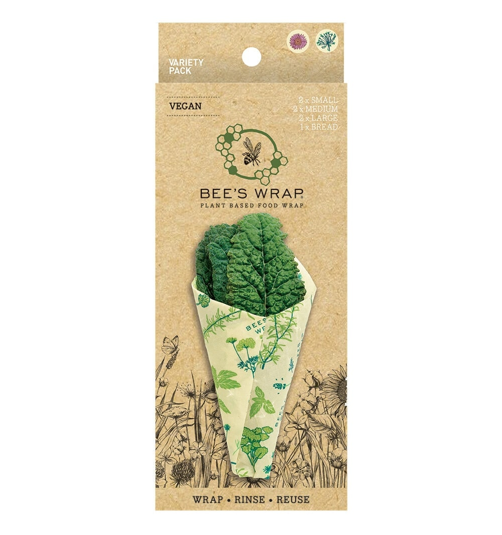 Bee's Wrap Vegan Herb Garden Variety Pack