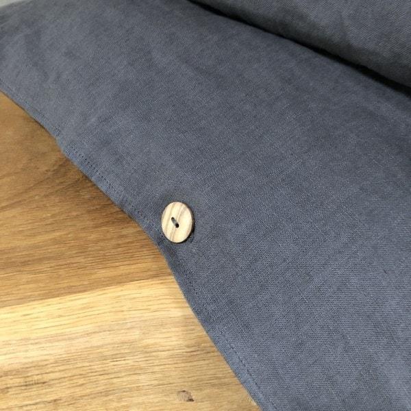 ecoinvent sengetøj asphalt grey træknap