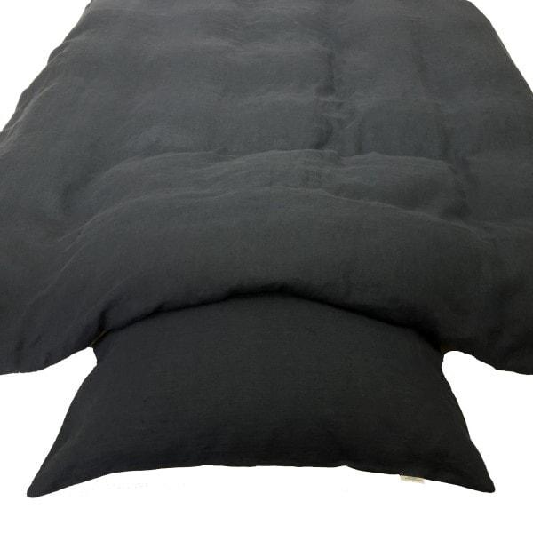 ecoinvent sengetøj asphalt grey 2