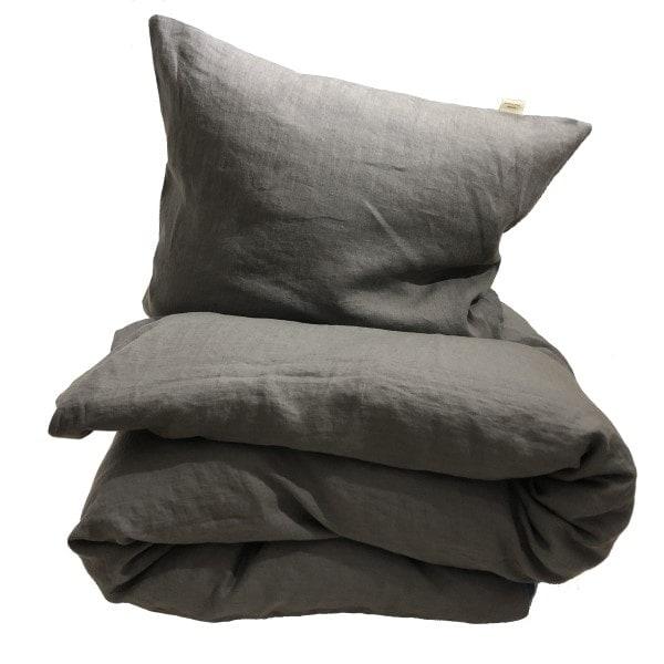 ecoinvent sengetøj soft grey