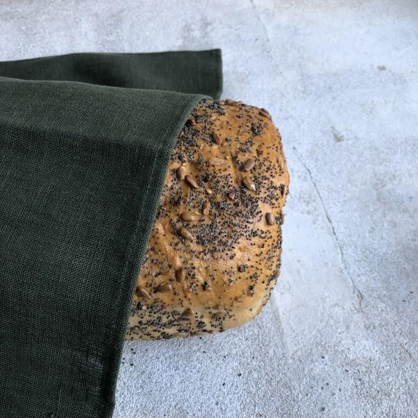 ecoinvent hørserviet leaf med brød